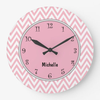 Pink Girly Clocks