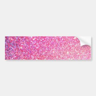 Pink Glamour Sparkley Bumper Sticker