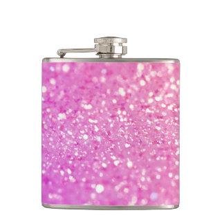 Pink Glamour Sparkley Flasks