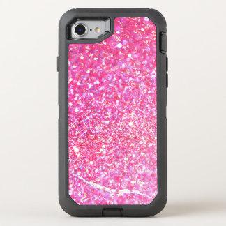 Pink Glamour Sparkley OtterBox Defender iPhone 8/7 Case