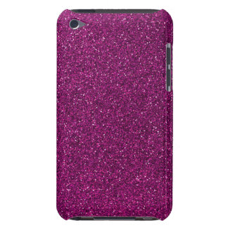 Pink Glitter Barely There iPod Case