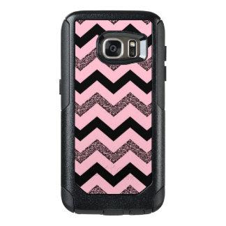 Pink Glitter Chevron Samsung Galaxy S7 Otterbox OtterBox Samsung Galaxy S7 Case