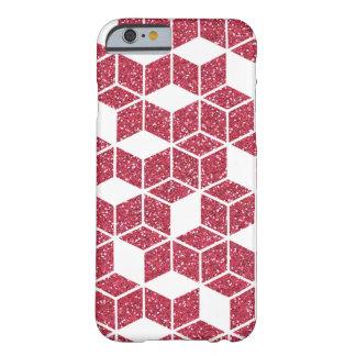 Pink Glitter Cube Pattern Case