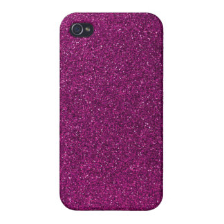 Pink Glitter iPhone 4/4S Covers