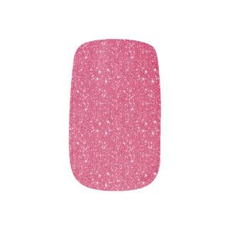 Pink Glitter  Minx Nails Minx Nail Art