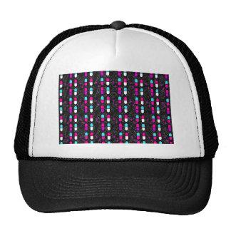 pink glitter pills trucker hat