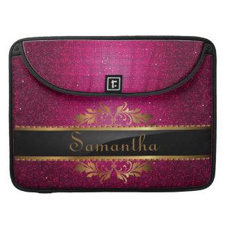 Pink Glitter Sequin MacBook Sleeve Computer Case