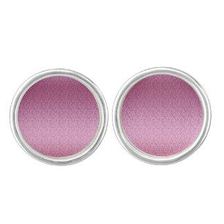 Pink Glittery Gradient Cuff Links