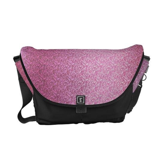 Pink Glittery Gradient Messenger Bag