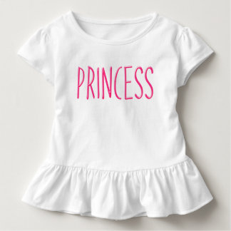 Pink glowing princess toddler t-shirt
