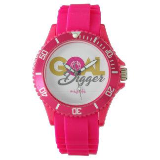 Pink Goal Digger Watch