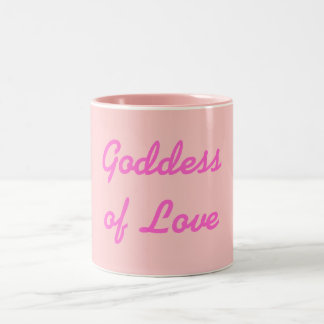 Pink Goddess of Love Mug
