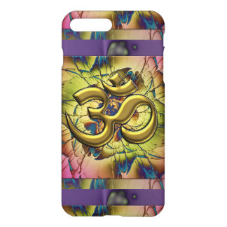Pink Gold and Lavender Blooming Om iPhone 7 Case