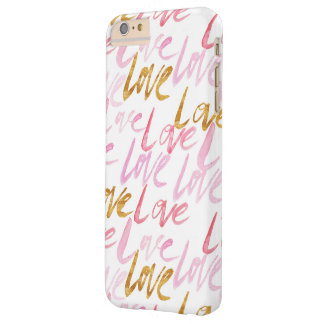 Pink & Gold Love Phone Case