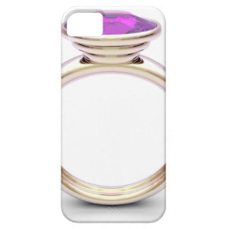 Pink gold ring iPhone 5 covers