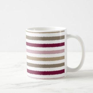 Pink Gold Stripes Mug