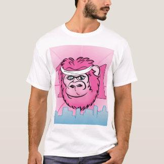 Pink Gorilla with Sweatband T-Shirt