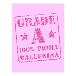 Pink Grade A Prima Ballerina Postcard