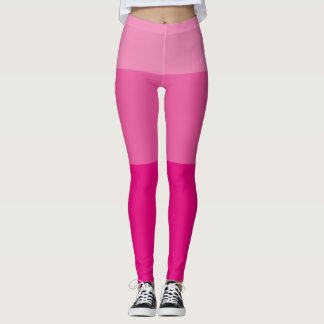Pink Gradient Leggings