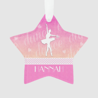 Pink Gradient Passionate Dancer with Hearts