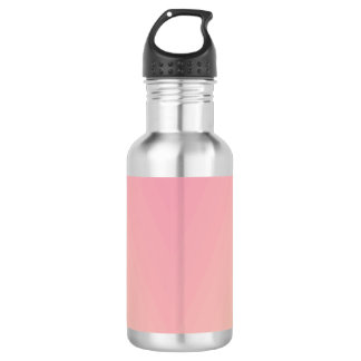 Pink Gradient Textured 532 Ml Water Bottle