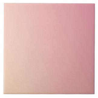 Pink Gradient Textured Tile