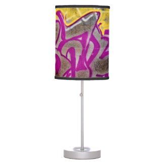Pink Graffiti Table Lamp