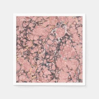 Pink Granite Paper Napkin