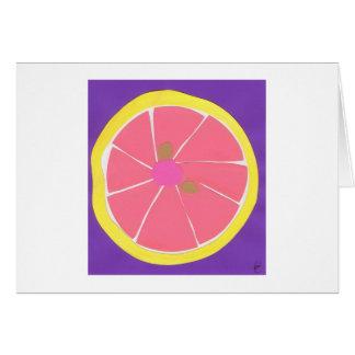Pink Grapefruit Card