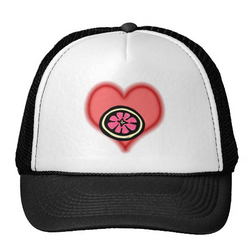 pink grapefruit hats