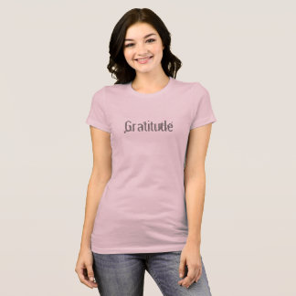 Pink Gratitude T-shirt