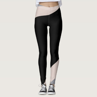 Pink/Gray/Black Yoga Pants