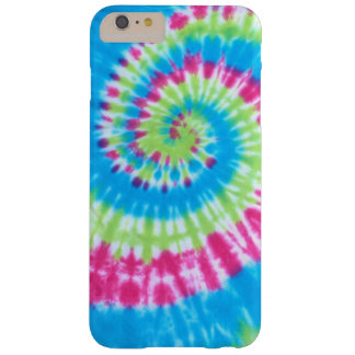Pink Green & Blue TieDye Swirl iPhone 6 Case