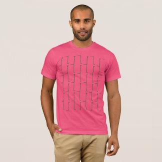 Pink Grey Brick T-Shirt