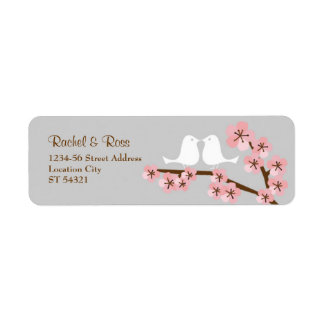 Pink & Grey Cherry Blossom Spring Wedding