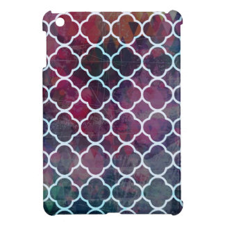 Pink Grunge Moroccan Style iPad Mini Case