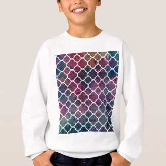 Pink Grunge Moroccan Style Sweatshirt