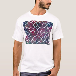 Pink Grunge Moroccan Style T-Shirt