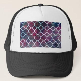 Pink Grunge Moroccan Style Trucker Hat