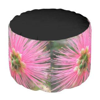 Pink Gum Tree Flower Pouf