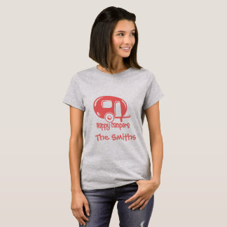 pink happy camper T-Shirt