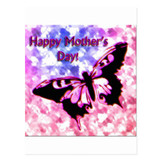 Pink Happy Mother s Day Design Postcards