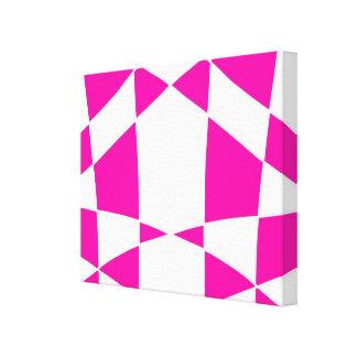 Pink Harlequin Print Artwork