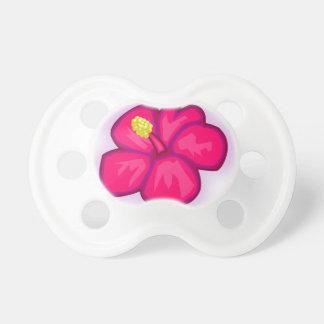 Pink Hawaii Flower Pacifier