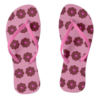 Pink Hawaiian Hawaii Cruise Sandals Gift