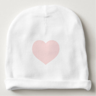 Pink Heart Baby Beanie