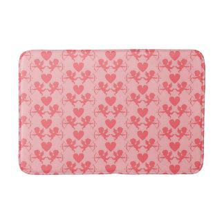 Pink Heart Bath Mat