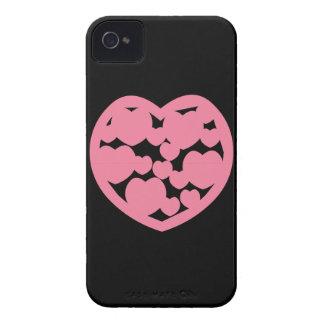 Pink Heart Blackberry Bold Case