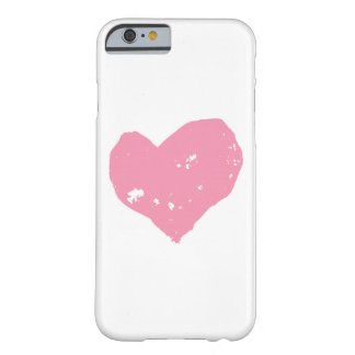 Pink heart, hull iPhone 6 Barely There iPhone 6 Case