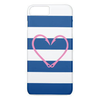 PINK HEART NAUTICAL iPHONE CASE